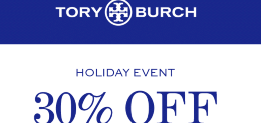 tory burch – holiday event: 30% off