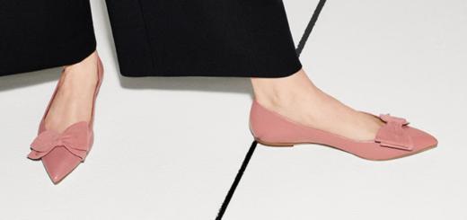 tory burch – the feminine bow shoe.