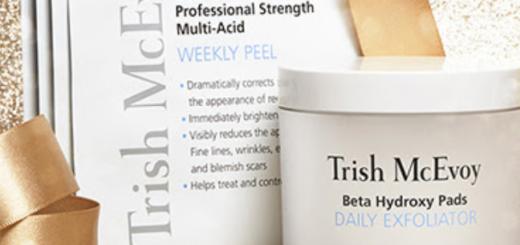trish mcevoy – today's exclusive: jumbo beta jar & peel duo!