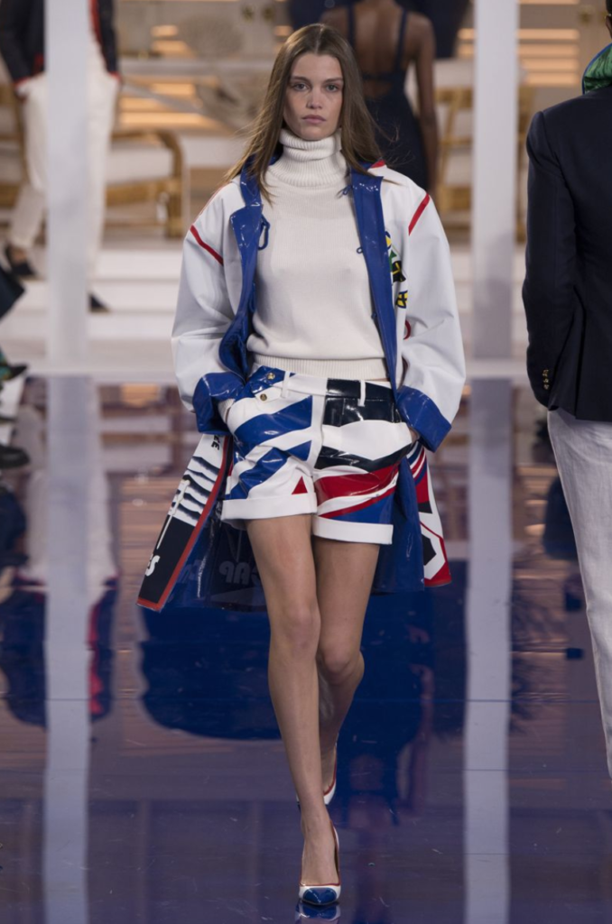 7bebe814199 We have included some of our favourite looks from the Ralph Lauren Ready To Wear  Spring Summer 2018 Show below.