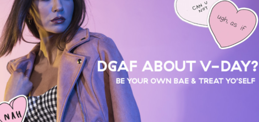 dgaf about v-day? be your own bae & treat yo'self ??