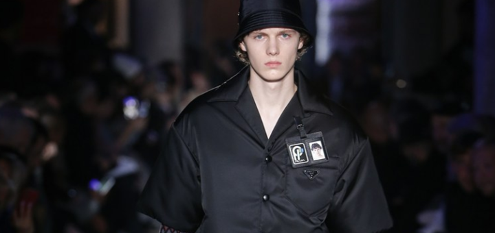 prada revisited the past in menswear at mfw 2018/2019
