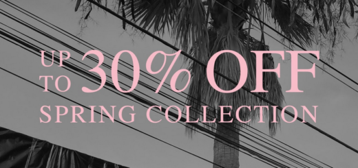 allsaints – up to 30% off the spring collection