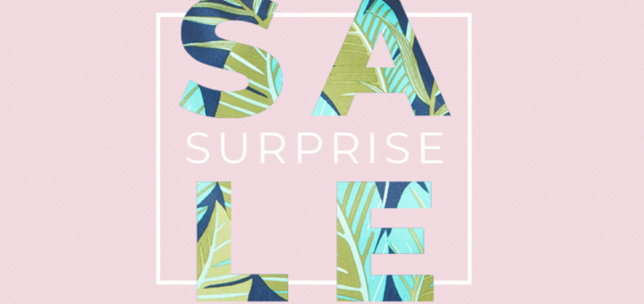surprise! everything's on sale at stella & dot!