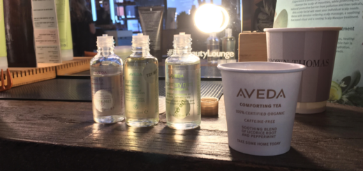 bea watson & aveda @brown thomas beauty lounge
