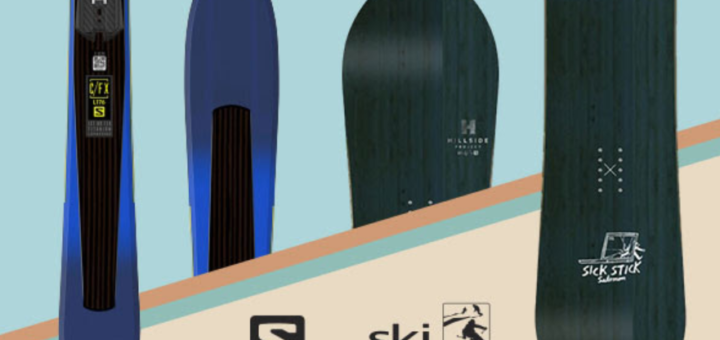 snow + rock – win a pair of skis or snowboard!