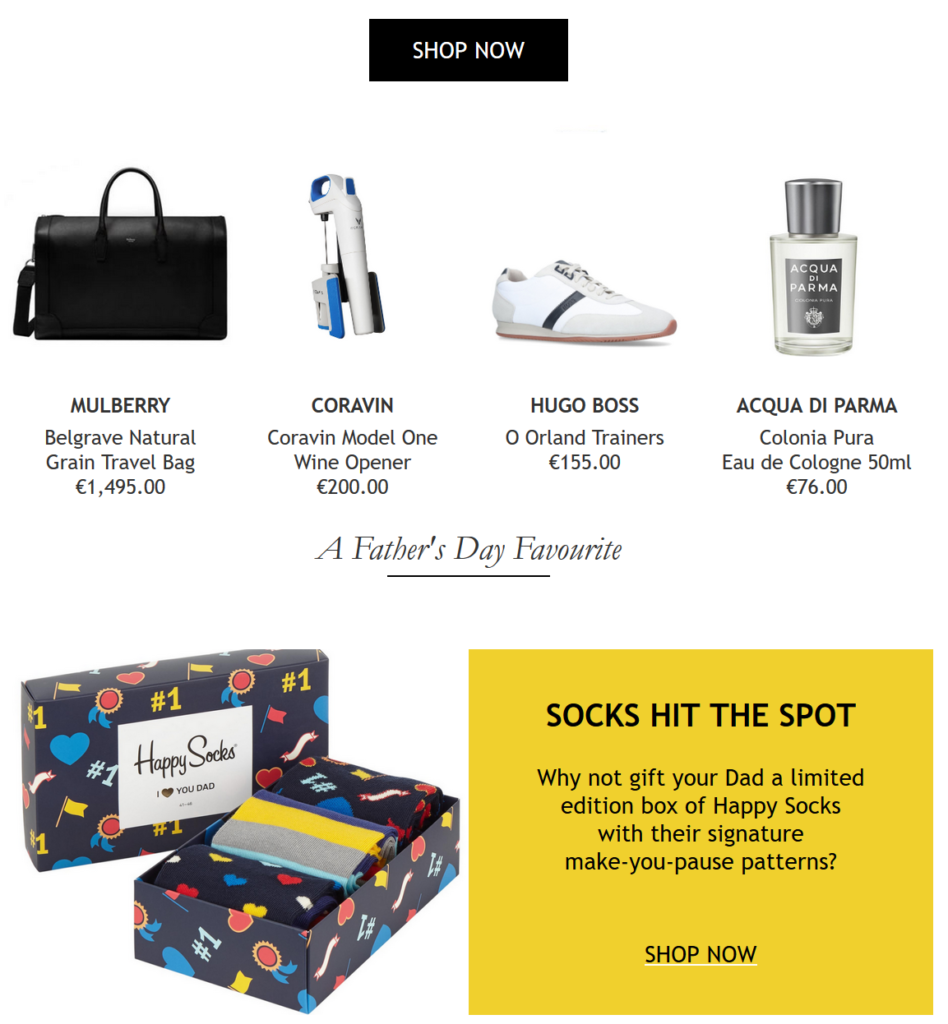 pretty cool check out 2018 shoes Brown Thomas - Father's Day gifts for deserving Dads! - Pynck