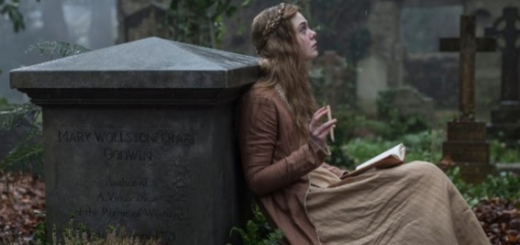 elle fanning in the new drama mary shelley this sunday morning