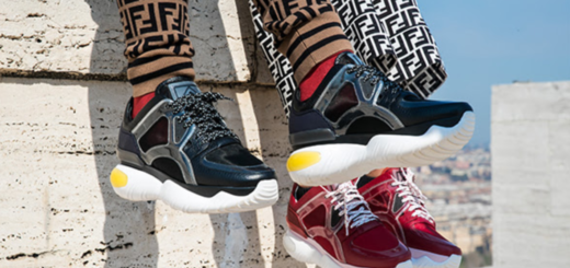 fancy fendi: the new sneaker generation