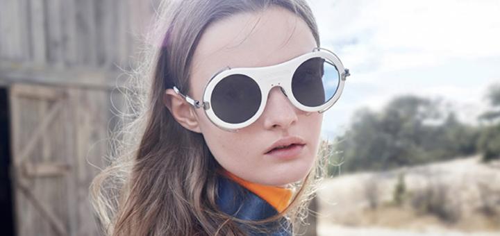 calvin klein's experimental eyewear @ harvey nichols