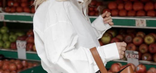 what's on the high street: the white shirt