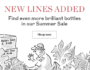 Berry Bros & Rudd – Summer Sale: new lines added