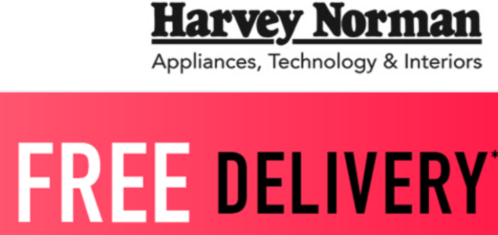 harvey norman – free delivery today only!