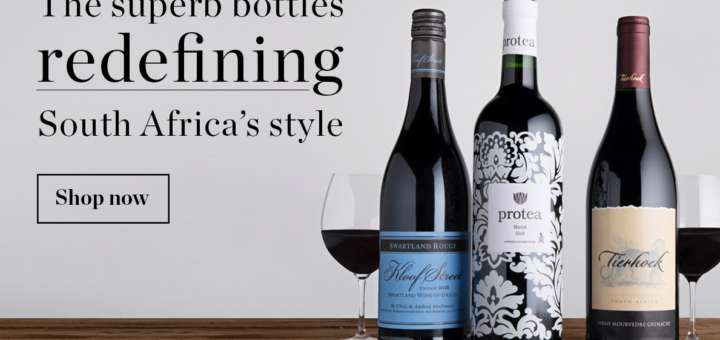 free delivery on south african wine when you spend over £50