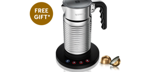 nespresso – complimentary milk frother