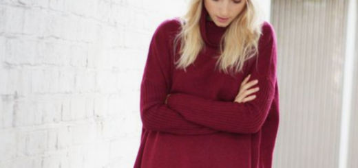 what's on the high street: autumnal reds