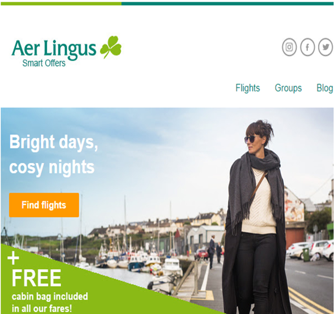 Aer Lingus-flight