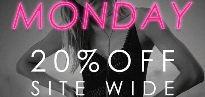 cosabella – cyber monday – 20% off site wide