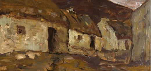 irish & international art auction – monday 12th november
