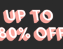 TOBI – You are Black Friday VIP (up to 80% off) 😏
