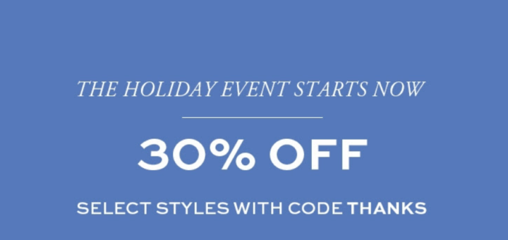 tory burch – starts now: black friday sale – up to 30% off