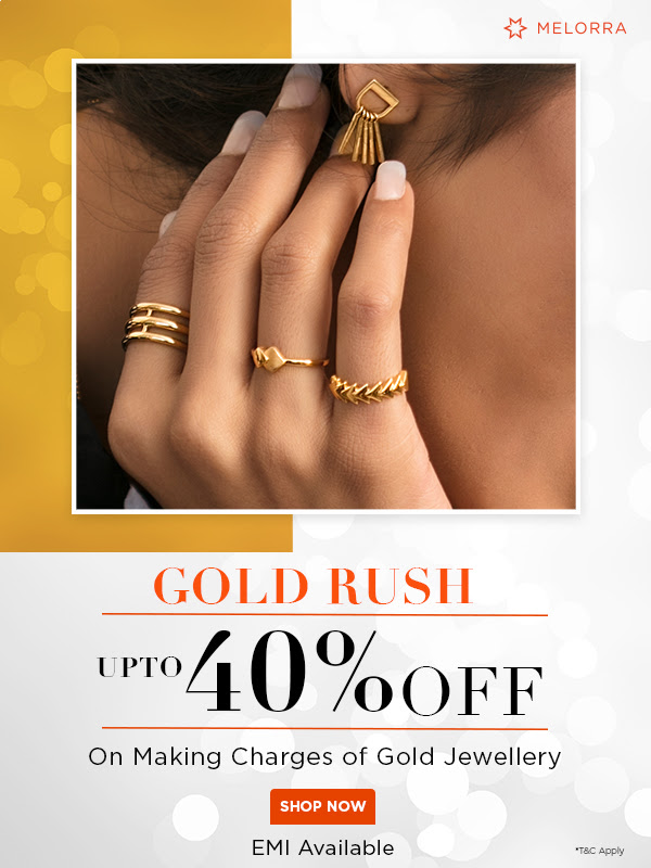 Melora offers Up to 40% off on their jewellery sales