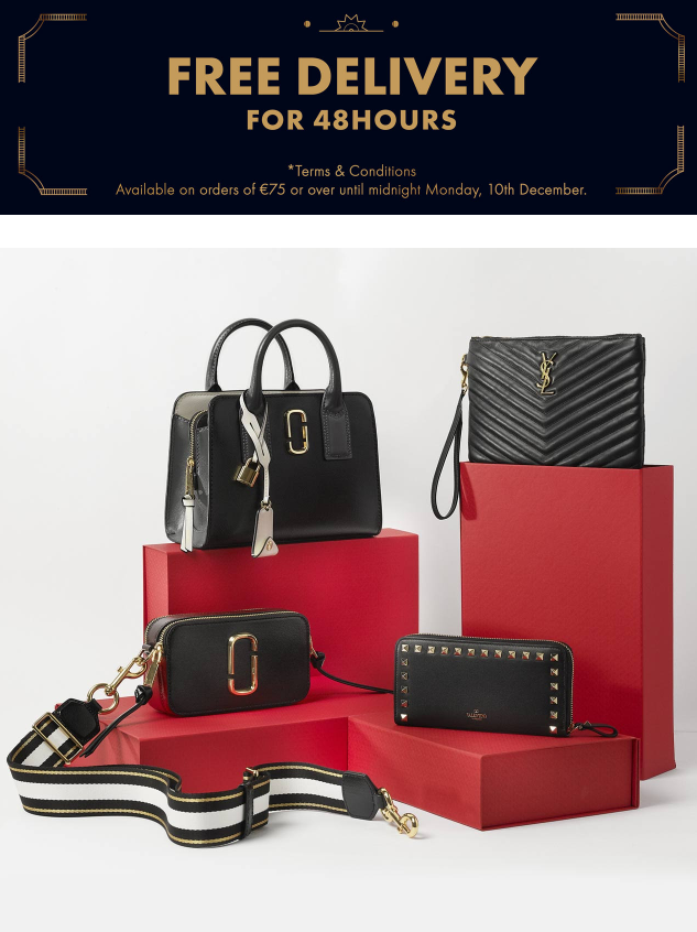 Brown Thomas- FREE DELIVERY and designer bags under €500