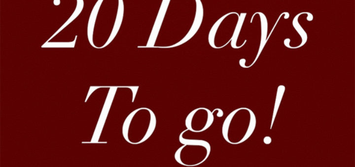 loveday london – 20 days to go… 20% off