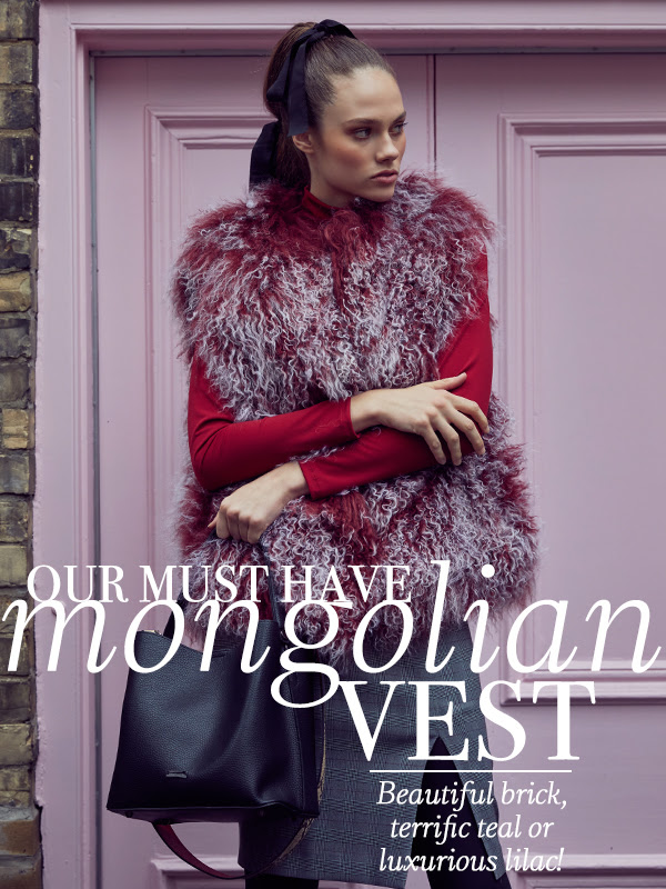 Pink Tartan - 10 Days of Gifts! Day 8: Our Must Have Mongolian Vest
