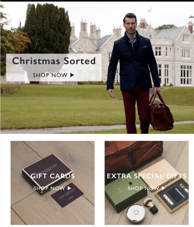 Louis Copeland & Sons- We've Your Christmas Sorted