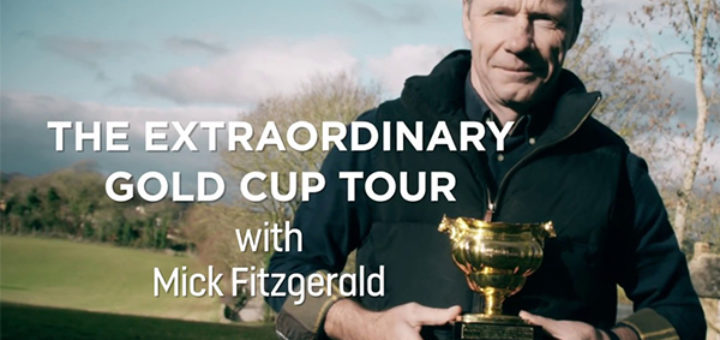 cheltenham racecourse -extraordinary gold cup tour with former gold cup winner
