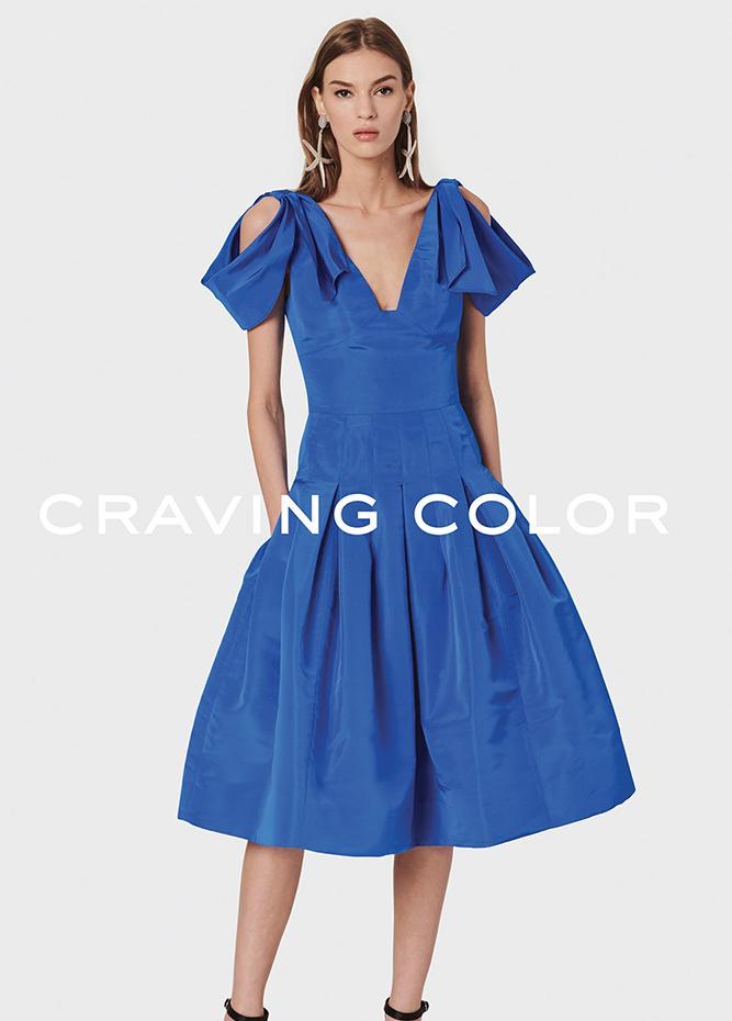 Oscar De La Renta Craving Color The Best Day Dresses On Sale Pynck