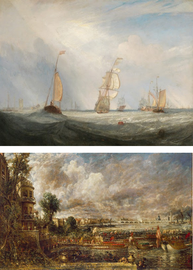 Royal Academy of Arts - Turner and Constable return to the RA