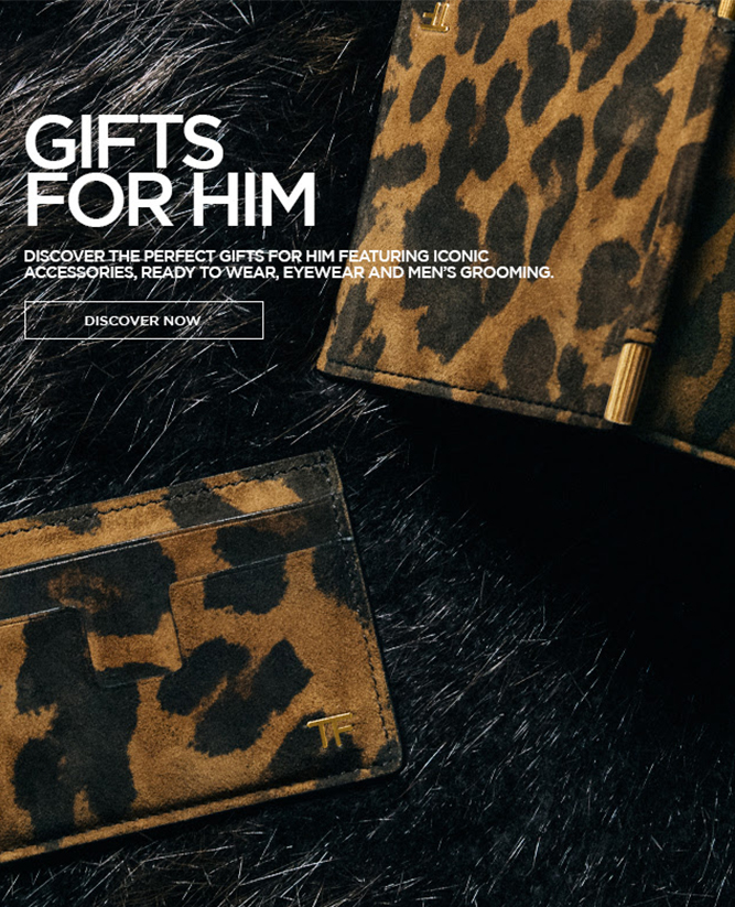 TOM FORD - The perfect gift for him