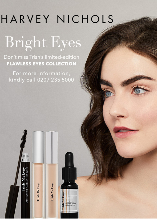 Trish McEvoy Harvey Nichols - Introducing Our Flawless Eyes Collection