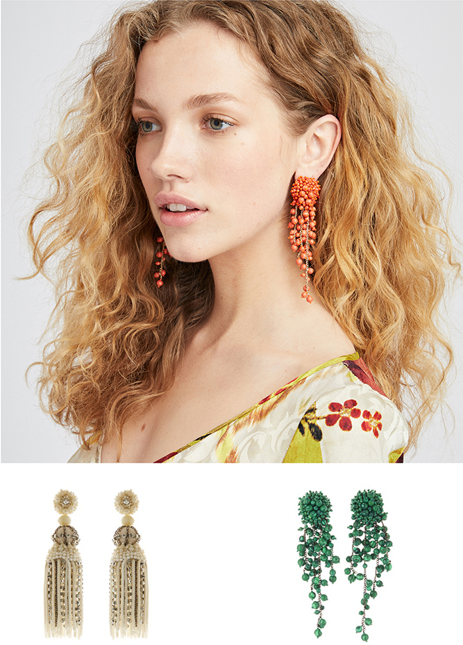 Oscar de la Renta - Have You Heard? New Statement Earrings Have Arrived