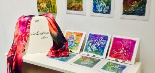 louise loughman artist at enterprise showcase rds