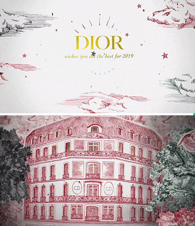 DIOR - Best wishes!