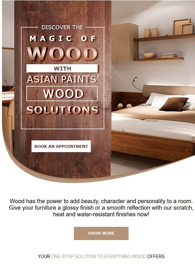 Asian Paints - Get customized home solutions, specific to your needs