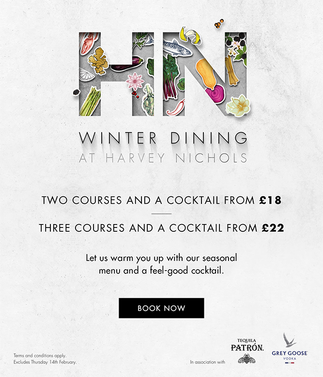 Harvey Nichols - Forks at the ready for Winter Dining