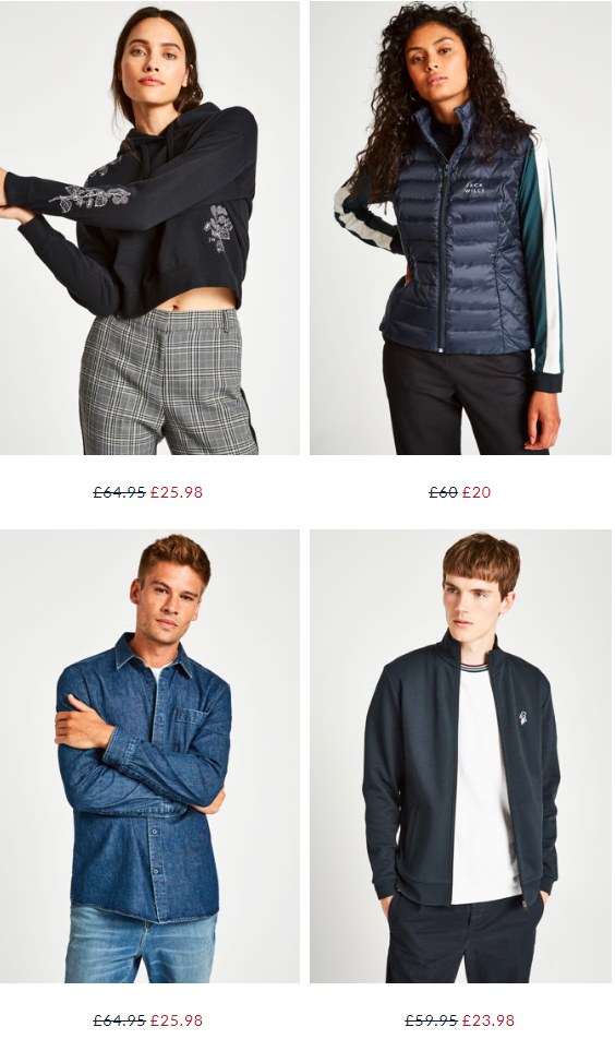 Jack Wills - Drop everything: Sale now up to 60% off