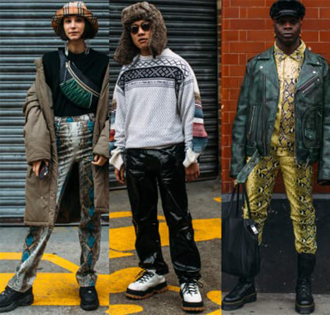 The Street style crowd made platform sneakers a thing at London fashion week