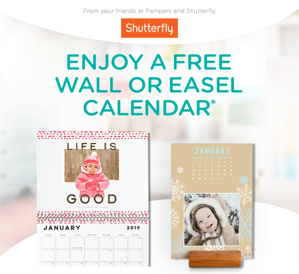 Pampers - Showcase precious memories in a FREE calendar