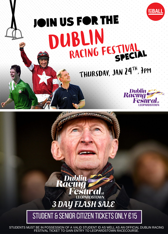 Leopardstown Racecourse - 2 weeks until Dublin Racing Festival - giveaways and exciting news inside!