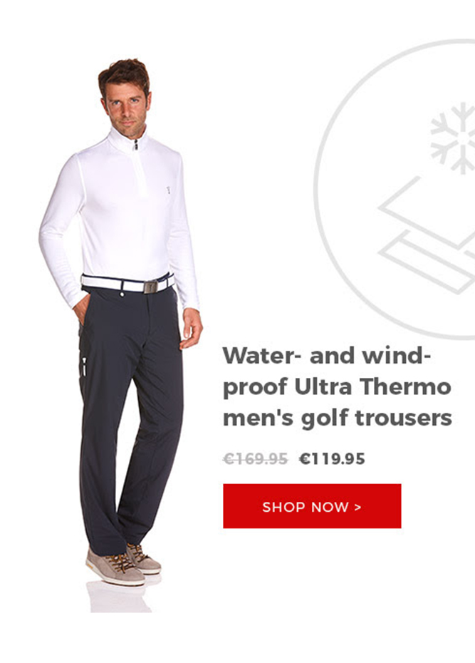 GOLFINO News - Thermo trousers - Big discounts! Free Shipping now!