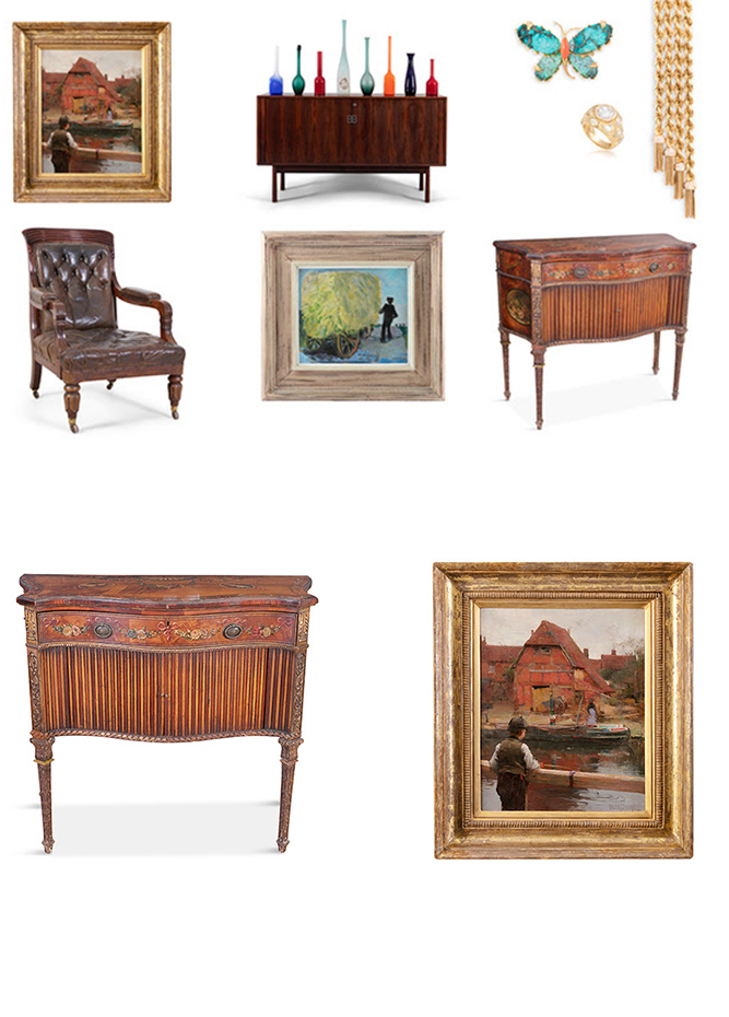 Adams - Adam's Spring Auction Series - Save the dates!