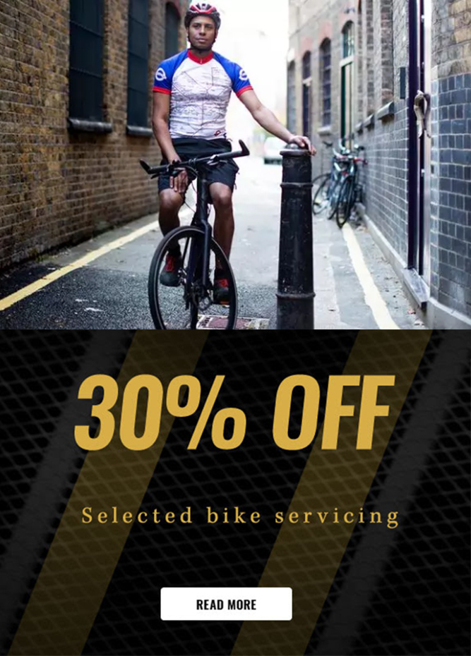 Cycle Surgery - Enjoy 30% off bike servicing this month only