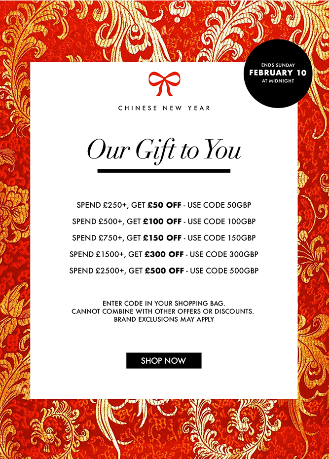FORZIERI - Final Call - Chinese New Year Exclusive