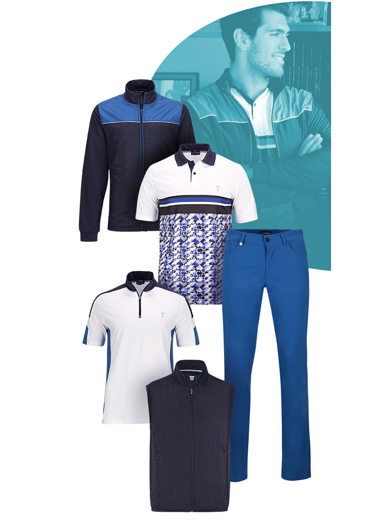 GOLFINO News - The perfect layer outfits for golfer