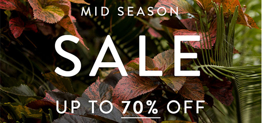 iCLOTHING - Dress up with 20% OFF dresses! Mid Season Sale now on